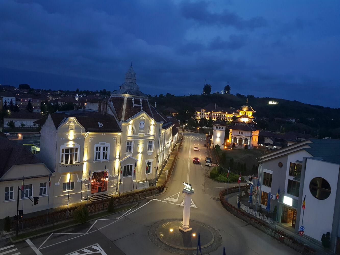 Unul dintre cele mai cochete orașe ale României