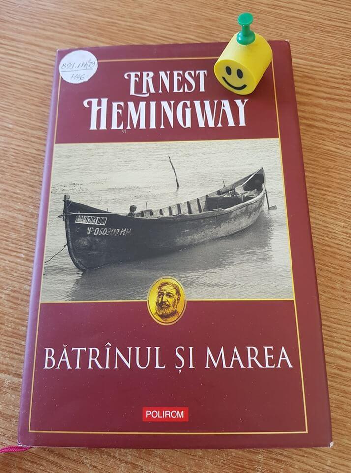 """""""Bătrânul şi marea"""" de Ernest Hemingway"""