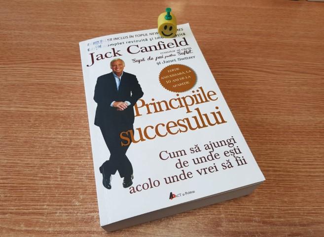 """""""Principiile succesului: Cum să ajungi de unde ești acolo unde vrei să fii"""" de Jack Canfield și Janet Switzer"""