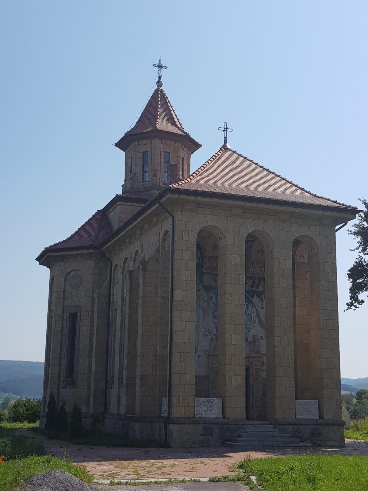 Satul cu o catedrală